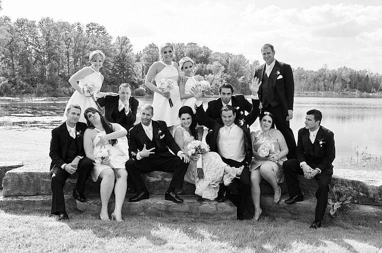 wedding party at royal ambassador