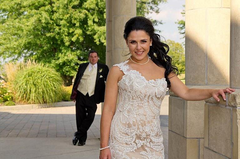bride and groom at Royal Ambassador