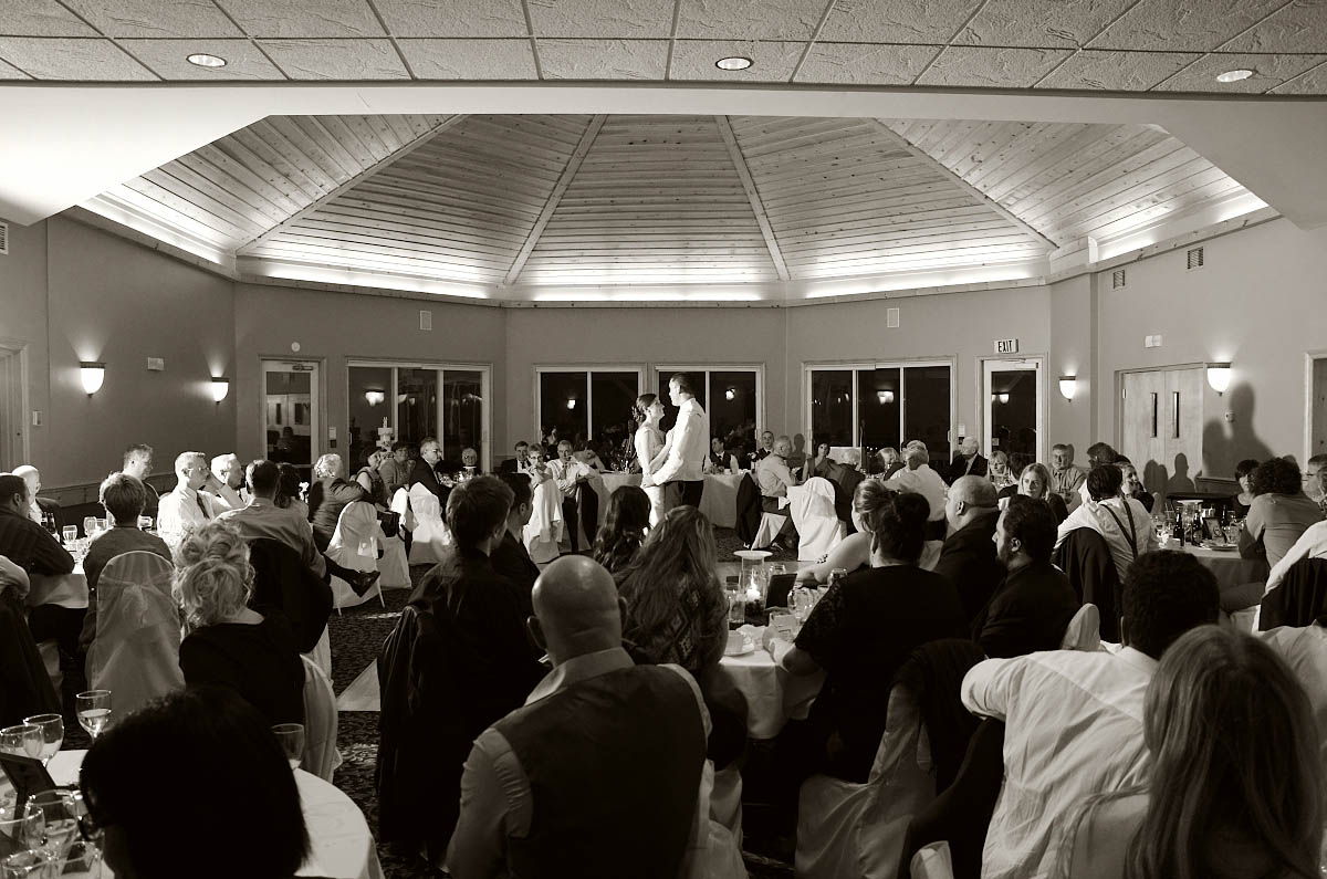 First dance at Eganridge Resort wedding