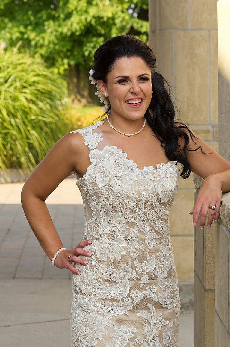 Beautiful bride at The Royal Ambassador