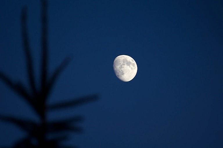 Full Moon above the Royal Ambassador at a Caledon wedding