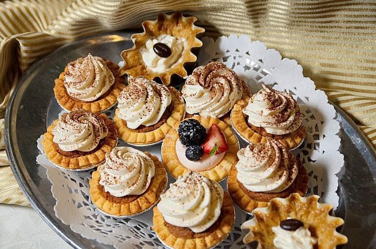 Delicious pastries at caledon wedding reception at The Royal Ambassador