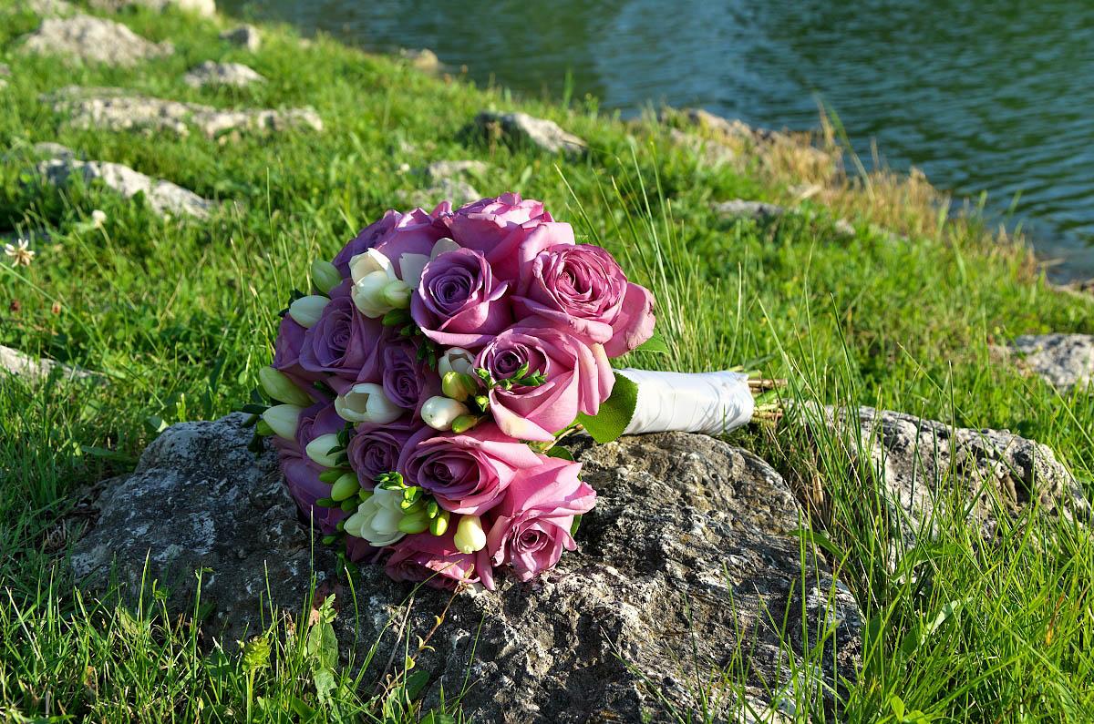 bouquet alliston wedding
