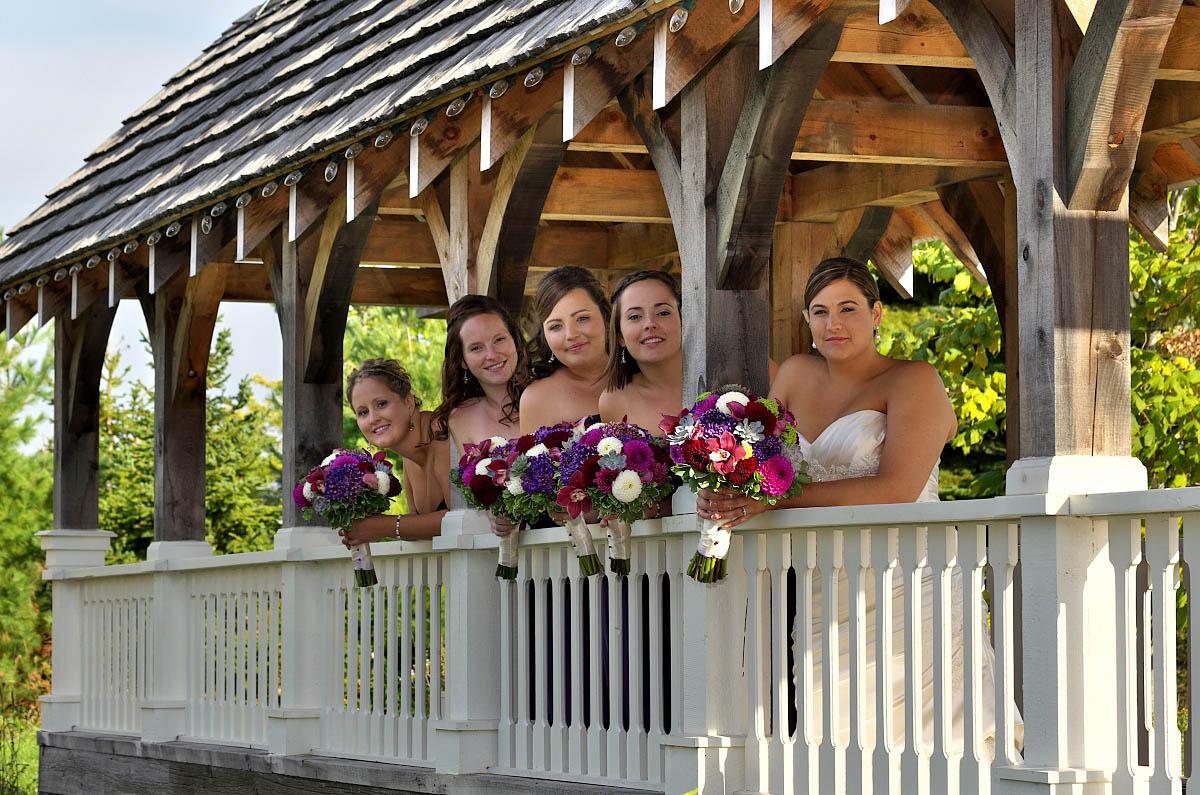 girls on belcroft bridge