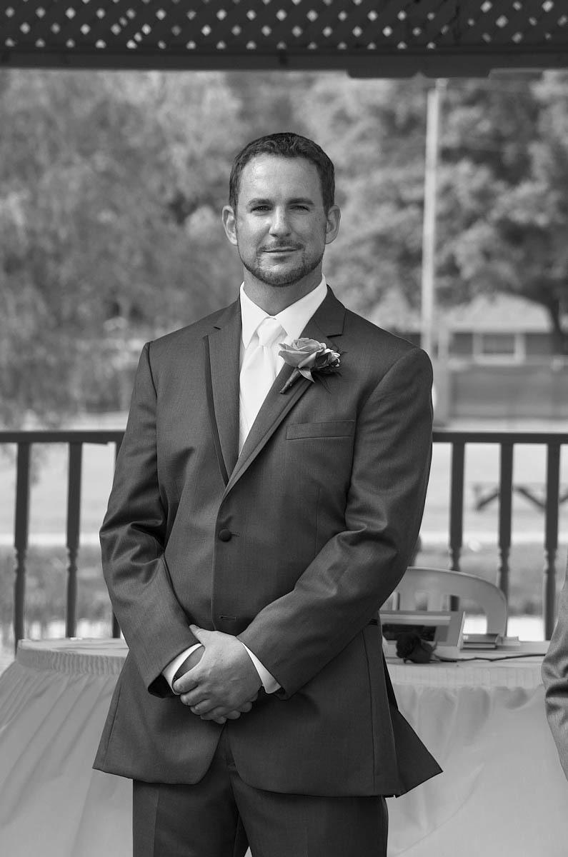 groom sees bride nottawasaga