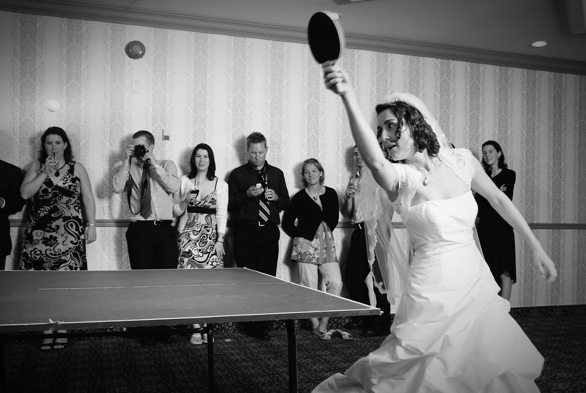 ping pong bride