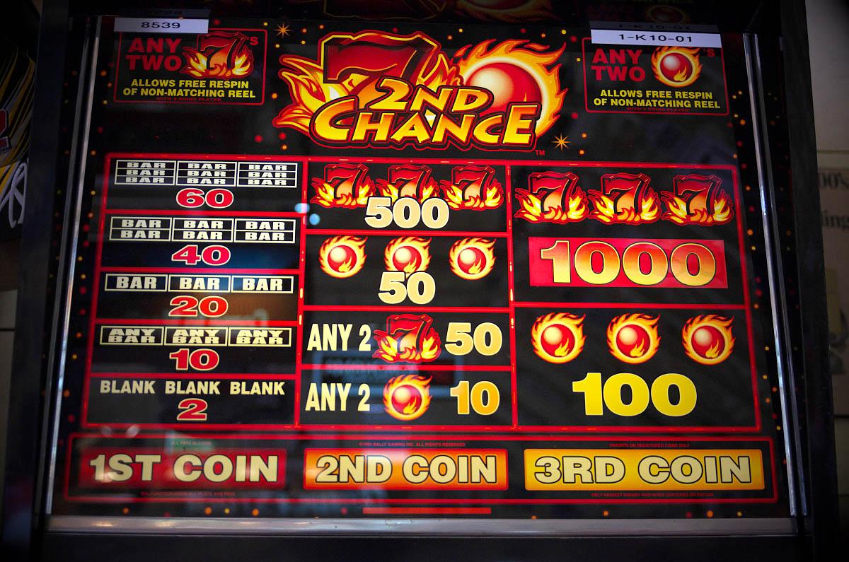 slot machine in man cave
