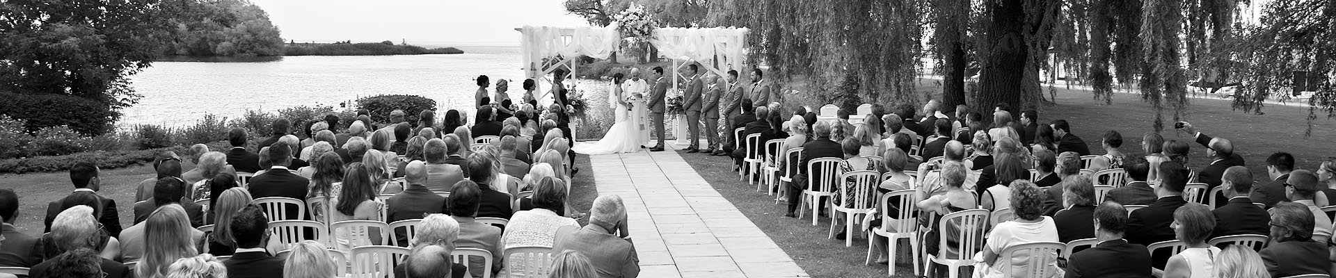 Wedding ceremony at Cranberry Resort