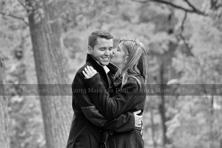 Orillia engagement photography session at Tudhope Park in Orilllia in fall