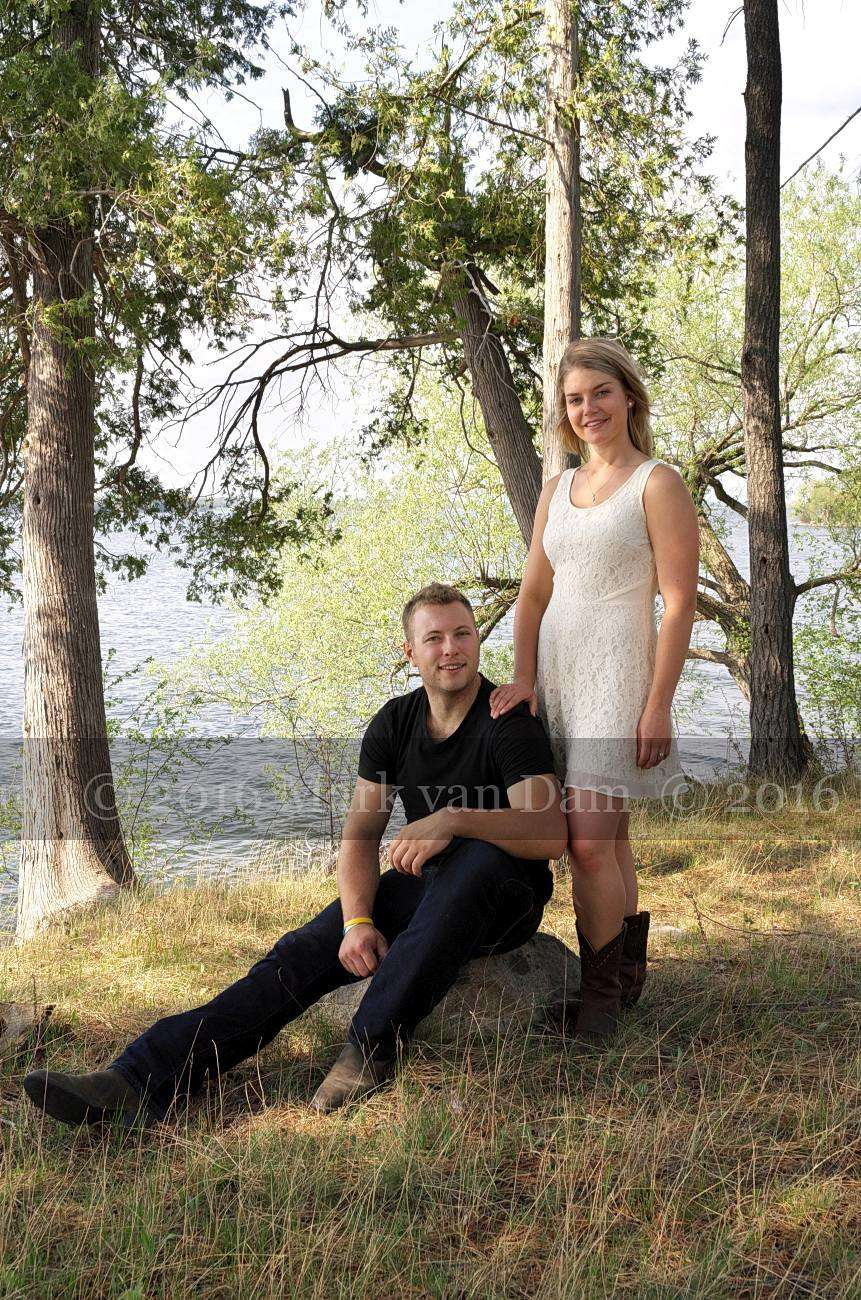 Boots and Arts:  Lauren and Trevor's Lakeside Engagement Session in Bridgenorth, Kawartha Lakes