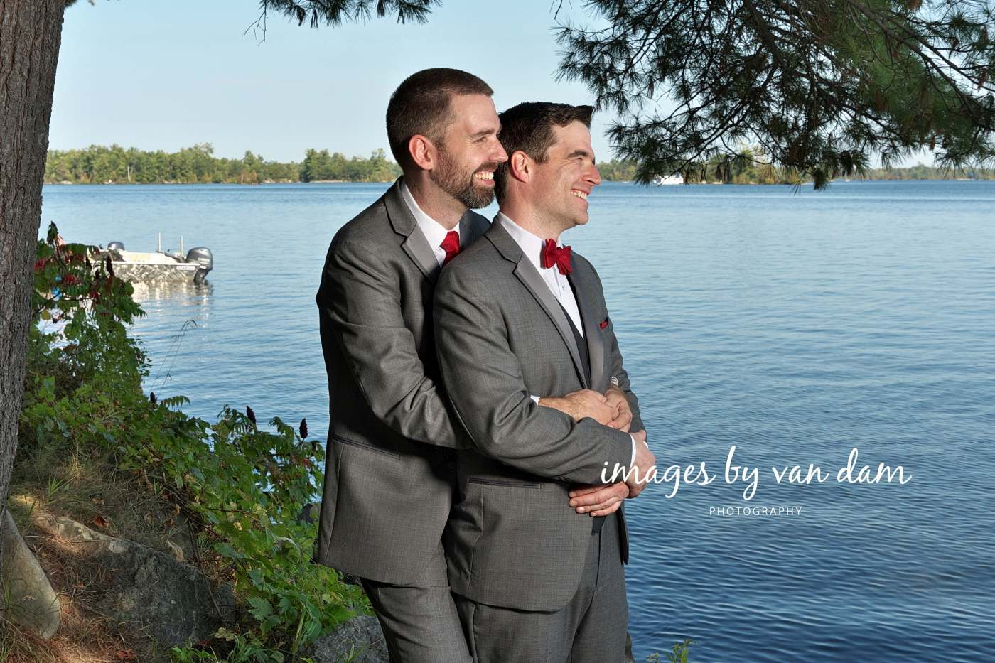 Greg and Greg\'s Waterfront Wedding at Beachwood Resort: Two Grooms ...