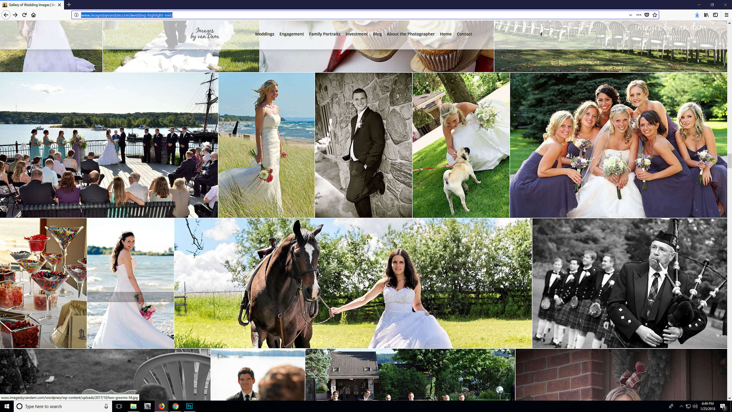 collingwood photographer Mark van Dam wedding photography highlight reel