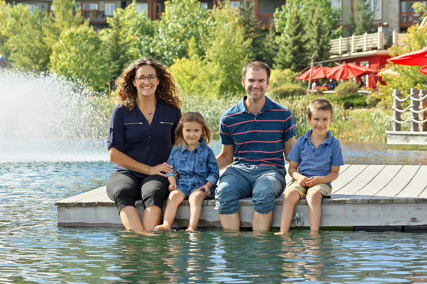 collingwood photographer blue mountain village family portraits