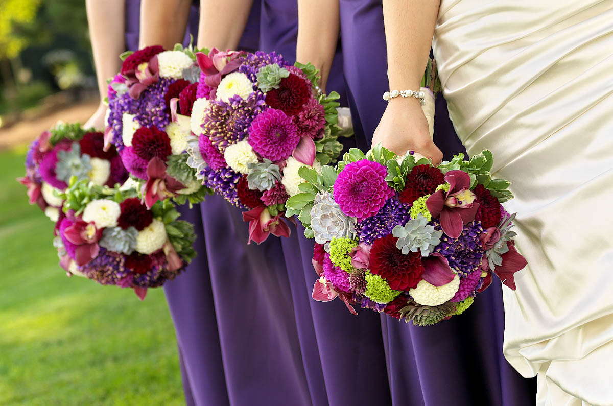 bouquets ina row