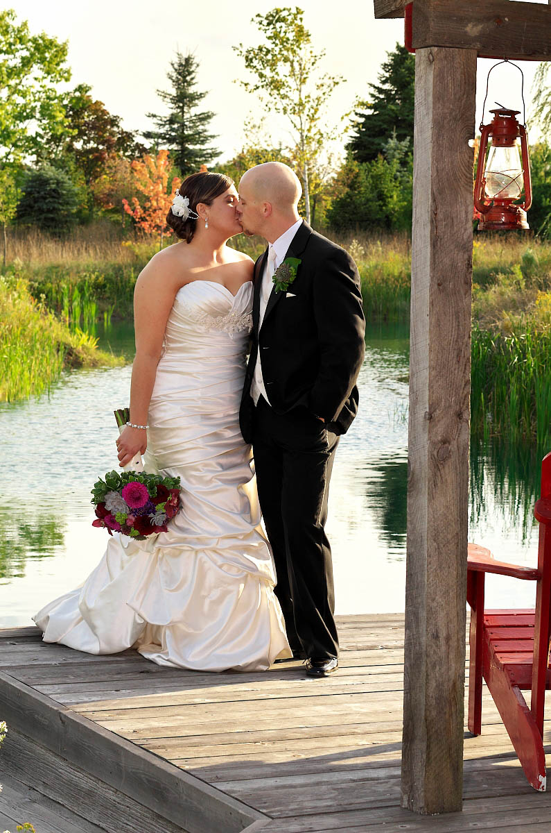 couple with lake in background
