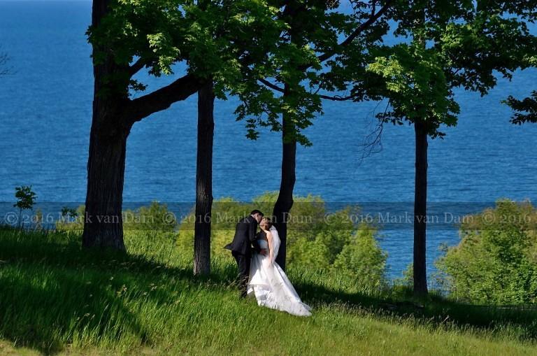 Collingwood wedding photography at a Georgian Bay Club wedding