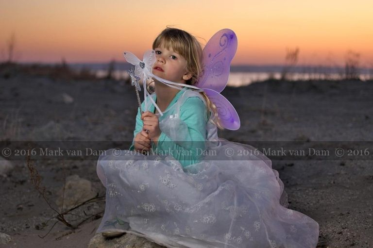 Magical fairy portraits at Wasaga Beach at sunset