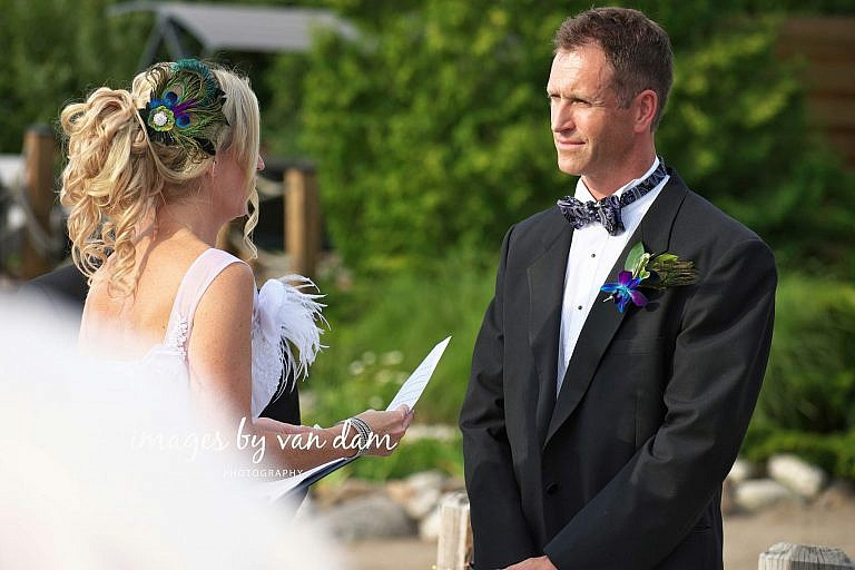 collingwood wedding photographer, waterfront wedding on georgian bay