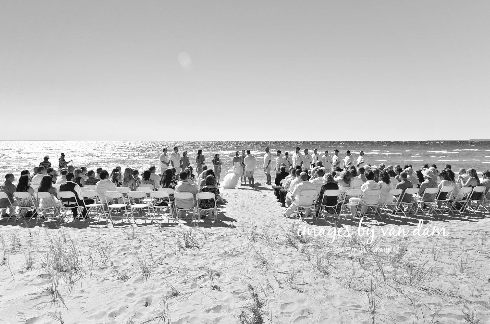barrie photographer georgian bay waterfront wedding at bluewater beach