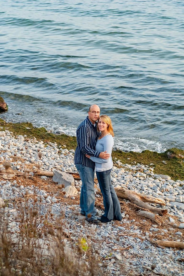 kingston photographer lamoine point engagement photography
